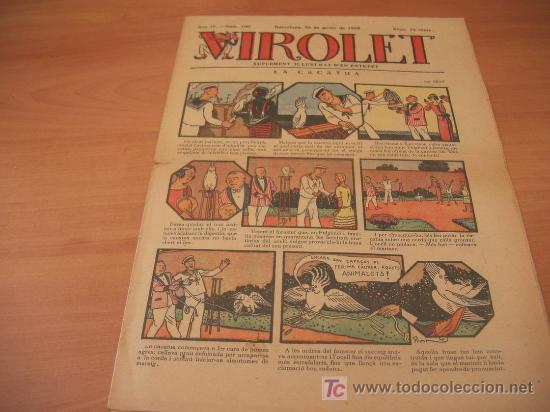 VIROLET Nº 160 (SUPLEMENT IL.LUSTRAT D'EN PATUFET)AÑO 1925 (Tebeos y Comics - Tebeos Clásicos (Hasta 1.939))