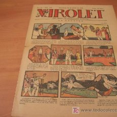 Tebeos: VIROLET Nº 160 (SUPLEMENT IL.LUSTRAT D'EN PATUFET)AÑO 1925. Lote 6404621