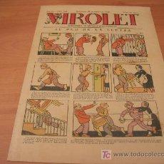 Tebeos: VIROLET Nº 165 (SUPLEMENT IL.LUSTRAT D'EN PATUFET)AÑO 1925. Lote 6496822