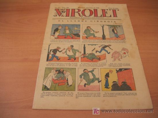 VIROLET Nº 180 DIFICIL (SUPLEMENT IL.LUSTRAT D'EN PATUFET)AÑO 1925 (Tebeos y Comics - Tebeos Clásicos (Hasta 1.939))