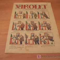 Tebeos: VIROLET Nº 181 DIFICIL (SUPLEMENT IL.LUSTRAT D'EN PATUFET)AÑO 1925. Lote 6496884