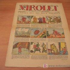 Tebeos: VIROLET Nº 188 (SUPLEMENT IL.LUSTRAT D'EN PATUFET)AÑO 1925. Lote 6496914
