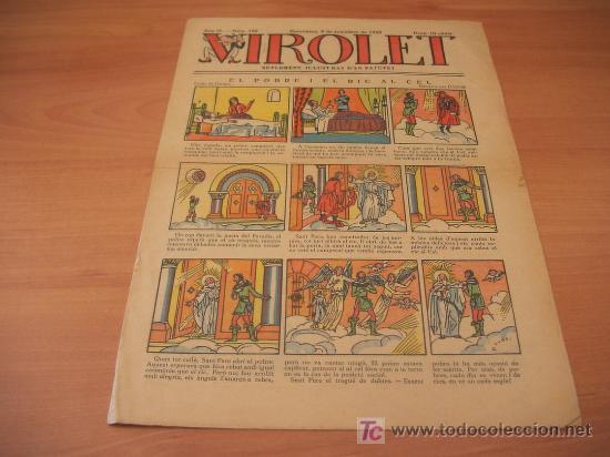 VIROLET Nº 192 (SUPLEMENT IL.LUSTRAT D'EN PATUFET)AÑO 1925 (Tebeos y Comics - Tebeos Clásicos (Hasta 1.939))