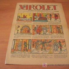 Tebeos: VIROLET Nº 192 (SUPLEMENT IL.LUSTRAT D'EN PATUFET)AÑO 1925. Lote 6496925
