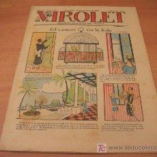 Tebeos: VIROLET Nº 193 (SUPLEMENT IL.LUSTRAT D'EN PATUFET)AÑO 1925. Lote 6496928