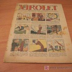 Tebeos: VIROLET Nº 196 (SUPLEMENT IL.LUSTRAT D'EN PATUFET)AÑO 1925. Lote 6496948