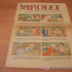 Tebeos: VIROLET Nº 198 (SUPLEMENT IL.LUSTRAT D'EN PATUFET)AÑO 1925. Lote 6496964