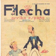 Tebeos: FLECHA ARRIBA ESPAÑA 13 NOVIEMBRE 1938 NÚMERO 95. Lote 24561089