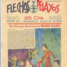 Tebeos: FLECHAS Y PELAYOS 14 DE MAYO 1939 NÚMERO 23. Lote 24561090