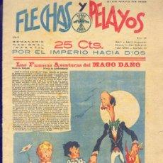 Tebeos: FLECHAS Y PELAYOS 21 DE MAYO 1939 NÚMERO 24. Lote 24512437
