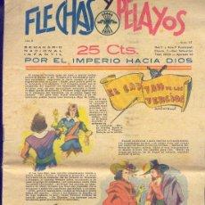 Tebeos: FLECHAS Y PELAYOS 11 JUNIO 1939 NÚMERO 27. Lote 24605084