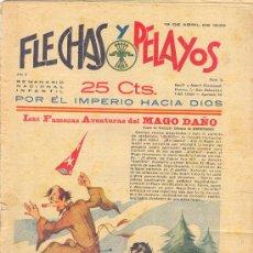 Tebeos: FLECHAS Y PELAYOS 16 ABRIL1939 NÚMERO 19. Lote 24649422