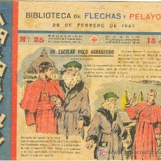 Tebeos: MARAVILLAS BIBLIOTECA DE FLECHAS Y PELAYOS Nº25. Lote 24626794