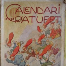 Tebeos: CALENDARI D'EN PATUFET. 1934. Lote 7295777