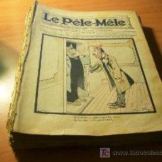 Tebeos: AÑO 1903 Y 1904. LE PELE MELE . LOTE ESPECTACULAR QUE INCLUYE 50 DE LOS PRIMEROS NUMEROS (COIB89). Lote 27225816