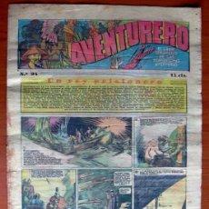 Tebeos: AVENTURERO, Nº 94 - EDITORIAL HISPANO AMERICANA 1935. Lote 8214251