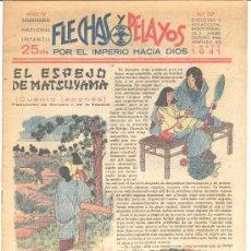 Tebeos: FLECHAS Y PELAYOS Nº127 1941. Lote 8289507