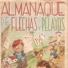Tebeos: COMIC ALMANAQUE FLECHAS Y PELAYOS 1943. Lote 8745436