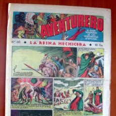 Tebeos: AVENTURERO, Nº 60 - EDITORIAL HISPANO AMERICANA 1935. Lote 8974411