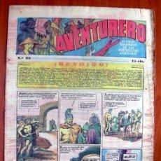 Tebeos: AVENTURERO, Nº 99 - EDITORIAL HISPANO AMERICANA 1935. Lote 8981032