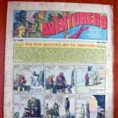 Tebeos: AVENTURERO, Nº 100 - EDITORIAL HISPANO AMERICANA 1935. Lote 8981061