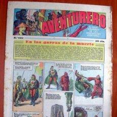 Tebeos: AVENTURERO, Nº 101 - EDITORIAL HISPANO AMERICANA 1935. Lote 12728899