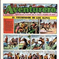 Tebeos: AVENTURERO - SEMANARIO PARA LOS JÓVENES - AÑO I Nº 11 - EDICIONES FUTURO. Lote 19892640