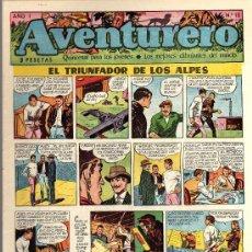 Tebeos: AVENTURERO - SEMANARIO PARA LOS JÓVENES - AÑO I Nº 12 - EDICIONES FUTURO. Lote 19892641