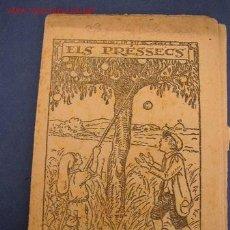 Tebeos: ELS PRÉSSECS - DE : JOSEP Mª FOLCH I TORRES - COL. EN PATUFET Nº 565 - IMP. EDUARD I JOSEP SOLÁ.. Lote 16729846