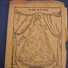 Tebeos: LES JOIES DE LA VERGE - DE: JOSEP Mª FOLCH I TORRES - COL. EN PATUFET Nº 329 - IMP. J. ROCA MENDOZA. Lote 16729855