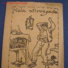 Tebeos: MALA ASTRUGÁNCIA - DE : MANUEL MARINEL-LO - COL. EN PATUFET Nº442 - IMP. A. ARTÍS.. Lote 16729860