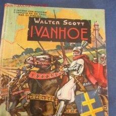 Tebeos: COMIC - IVANHOE, DE WALTER SCOTT - COLECCIÓN -CANGURITO- AVENTURA ILUSTRADA PARA NIÑOS- Nº 3 - 1962. Lote 22173554