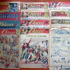Tebeos: COLECCIÓN DE MUESTRAS DE CHICOS, MIS CHICAS, FLECHAS Y PELAYOS, ETC - VER FOTOS. Lote 26556421