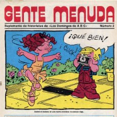 Tebeos: GENTE MENUDA Nº2 (SUPLEMENTO ABC) FLASH GORDON, DICK TRACY, POPEYE,.... Lote 9793353