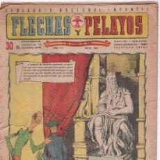Livros de Banda Desenhada: FLECHAS Y PELAYOS. Nº 226. Lote 18535509