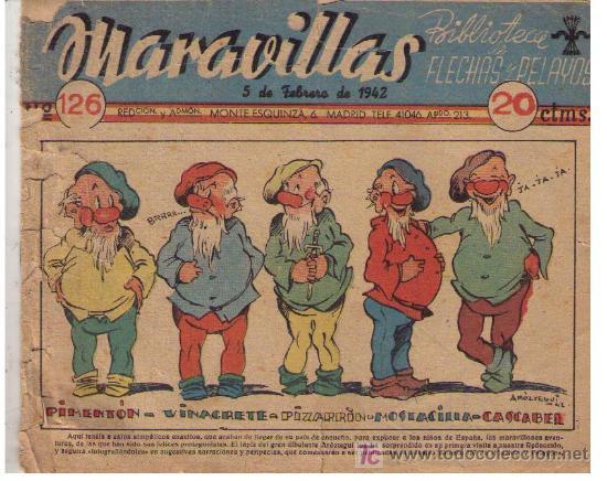 MARAVILLAS. Nº 126 (Tebeos y Comics - Tebeos Clásicos (Hasta 1.939))