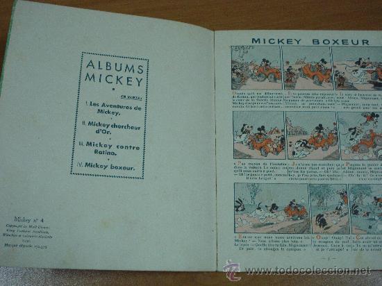 Tebeos: MICKEY BOXEUR. MICKEY Nº 4. 1932. - Foto 2 - 18047913