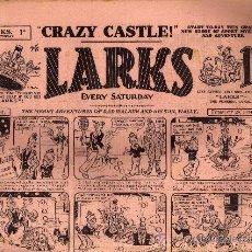 Tebeos: COMIC - LARKS 1D - Nº 331 - 24/2/1934 - AMALGAMATED PRESS - LONDON. Lote 21441469