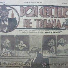 Tebeos: OCASION UNICA DE COMPRAR LOS CUATROS PRIMEROS NUMEROS DE DON CECILIO DE TRIANA. Lote 27050479