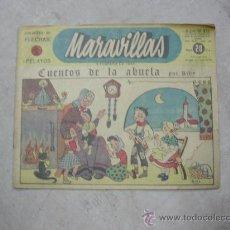 Tebeos: MARAVILLAS DE FLECHAS Y PELAYOS. Lote 19773576