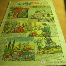 Tebeos: FLECHAS Y PELAYOS ( SEMANARIO NACIONAL INFANTIL ) AÑO 1940. Nº 82. TARRAGONA EN INTERIOR. Lote 11477549