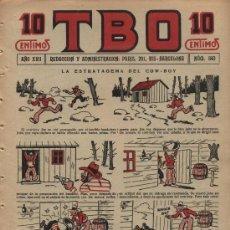 Livros de Banda Desenhada: TBO. Nº 840. AÑO 1933. Lote 21232684