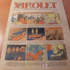 Tebeos: VIROLET AÑO 1925 ( SUPLEMENT IL.LUSTRAT D'EN PATUFET ) Nº 199. Lote 12724801