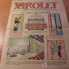 Tebeos: VIROLET AÑO 1925 ( SUPLEMENT IL.LUSTRAT D'EN PATUFET ) Nº 193. Lote 12724805