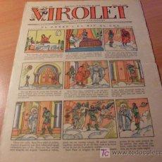 Tebeos: VIROLET AÑO 1925 ( SUPLEMENT IL.LUSTRAT D'EN PATUFET ) Nº 192. Lote 12724810