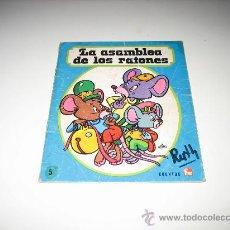Tebeos: LA ASAMBLEA DE RATONES - CUENTOS FHER 1976. Lote 25983837
