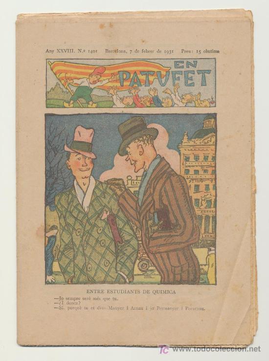 EN PATUFET Nº 1401. AÑO 1931 (Tebeos y Comics - Tebeos Clásicos (Hasta 1.939))