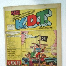 Tebeos: CADETE AÑO I, N.13 ,KDT EDITORIAL MATEU 1959. Lote 22460027