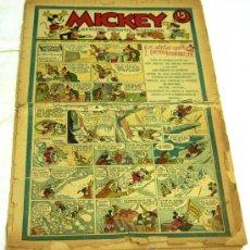 Tebeos - Mickey nº 3 tebeo Ed Molino 1935 - 21225144