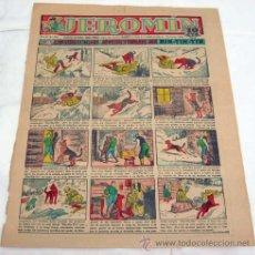 Tebeos: PORTADA JEROMÍN Nº 358 19 MARZO 1936 AUTÉNTICAS AVENTURAS DE RIN TIN TIN. Lote 15292571